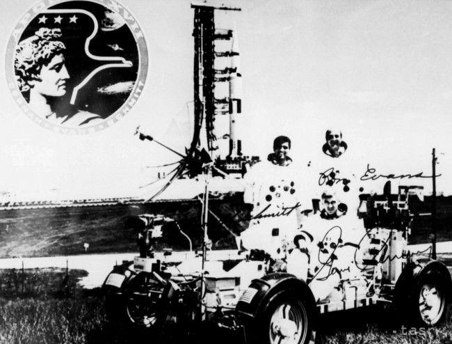 Americký kozmonaut Eugene Andrew Cernan má slovensko-českých predkov