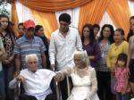 Paraguajský pár sa cirkevne zosobášil po 80 rokov spolužitia