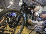 Po 50 rokoch našli ukradnutú motorku