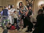 Obamovo neposedné šteňa prevalcovalo malé dievčatko
