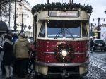 Centrom Bratislavy bude jazdiť Vianočná električka