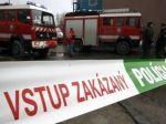 Hasiči zasahovali v Bratislave, horela stará budova