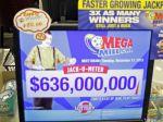 Dvojica výhercov si rozdelila jackpot vo výške 636 miliónov dolárov