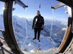 Foto, Video: Najvyššia sklenená vyhliadková plošina je vo francúzskych Alpách