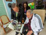 Fidel Castro sa stretol so šéfom OSN a hlavou Brazílie