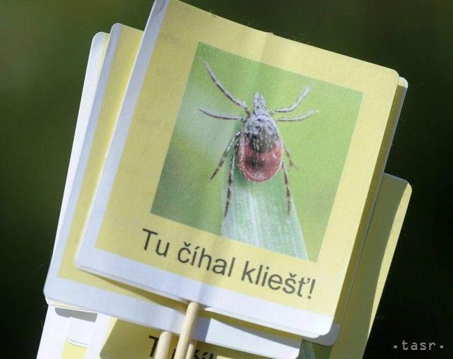 Na Slovensku je 37 oblastí s infikovanými kliešťami