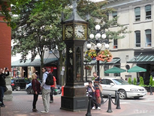 Vo Vancouveri ukazujú presný čas parné hodiny