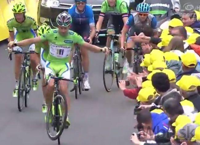 e91dbeb24a540 Video: Peter Sagan naplnil cieľ a opäť pobavil fanúšikov | Info.sk