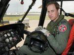 Princ William bude pilotom civilného záchranárskeho vrtuľníka