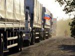 Do Donecka mieria ruské kamióny, Ukrajina o ničom nevie