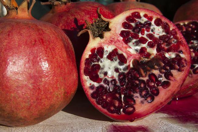 Zdravie v stovkách semienok – granátové jablko