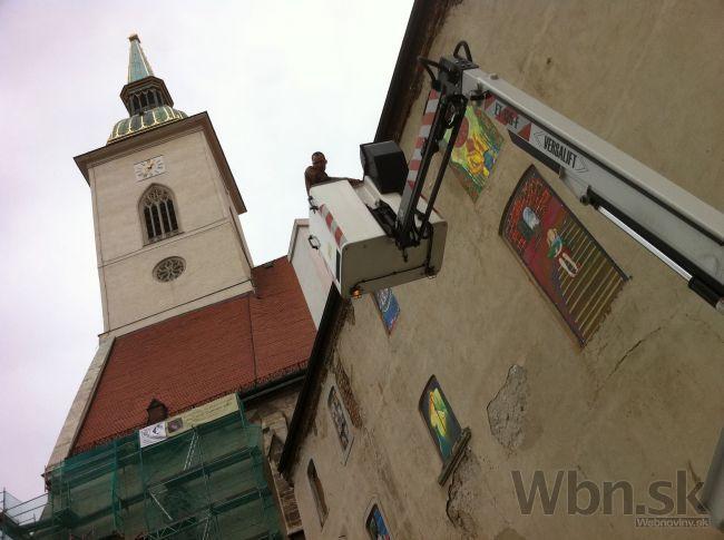 Okolie Dómu svätého Martina skrášli nová obrazáreň