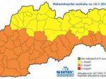 Silné búrky môžu spôsobiť prívalové povodne