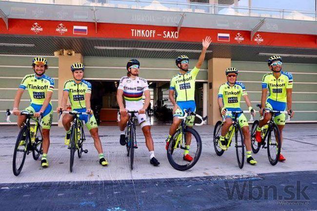 77bde7213c77d Sagan odštartoval sezónu: Tinkoff skončil v časovke štvrtý   Info.sk