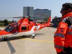 Mladý cyklista utrpel ťažký úraz hlavy, zachraňoval ho vrtuľník