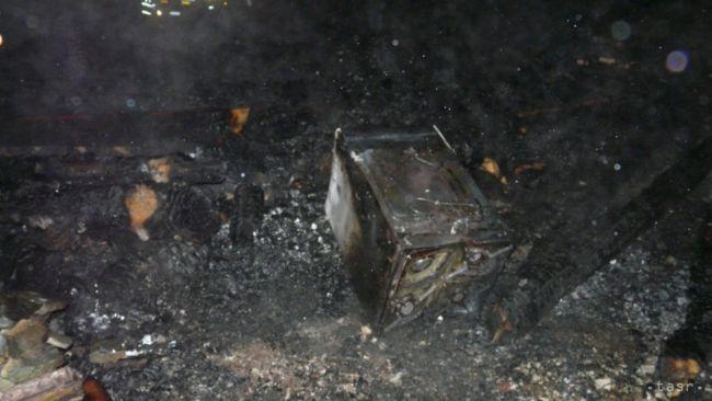 Požiar chaty v Oščadnici neprežil jeden človek