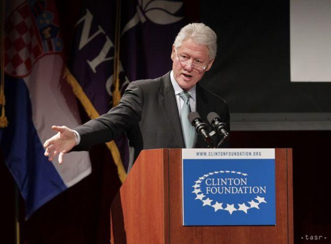 Bill Clinton fajčenie