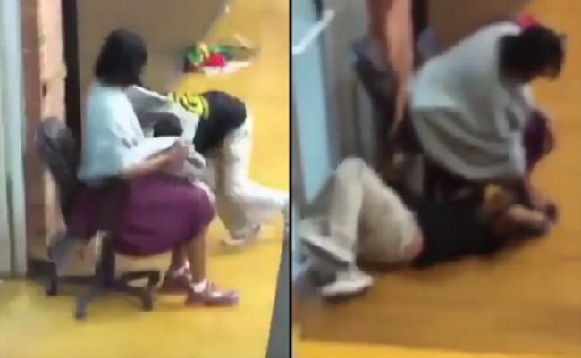 Video: Učiteľka stratila trpezlivosť a napadla postihnuté dievča