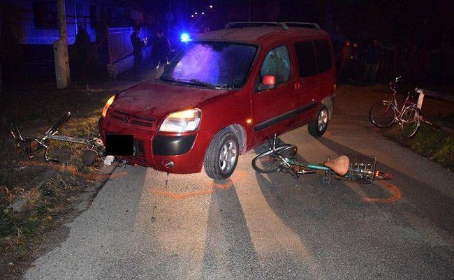FOTO: Tri cyklistky sa zrazili s autom