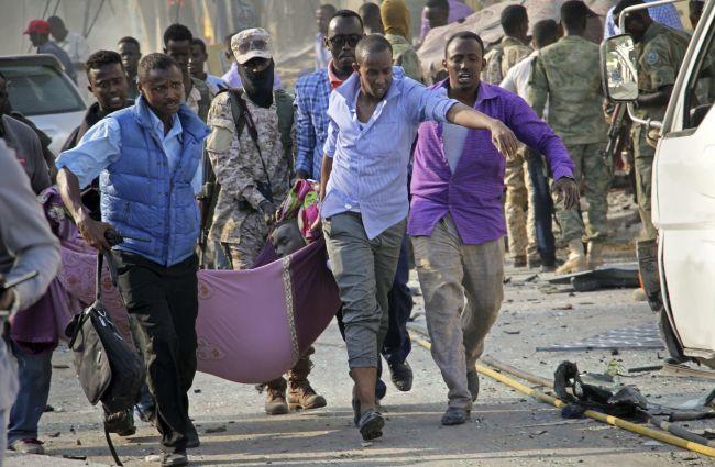 Somálsko: Mohutný výbuch otriasol Mogadišom, polícia hlási 20 obetí