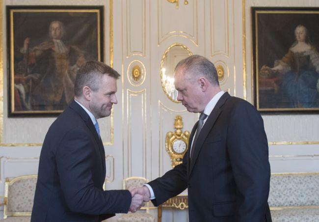 Prezident poverí Pellegriniho zostavením novej vlády, ak mu súčasný kabinet doručí demisiu
