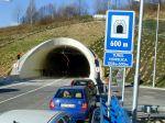Polícia upozorňuje na nepretržitú uzáveru tunela Horelica