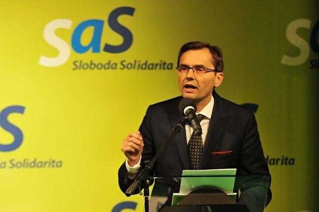 SaS: V súčasnej vládnej koalícii už nie je nikto, kto by polícii vrátil dôveru