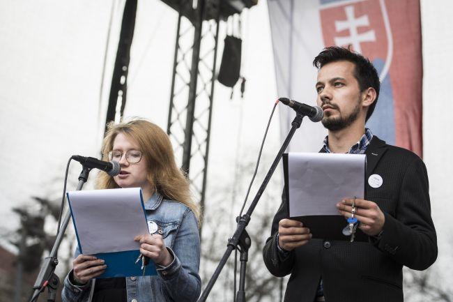 Za slušné Slovensko: Odvolanie Gašpara je teraz zodpovednosťou premiéra