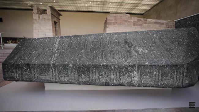 Tekutina v sarkofágu nie je elixírom života, ale odpadovou vodou
