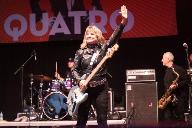 Fenomenálna Suzi Quatro zahrala v Seredi svoje najlegendárnejšie hity