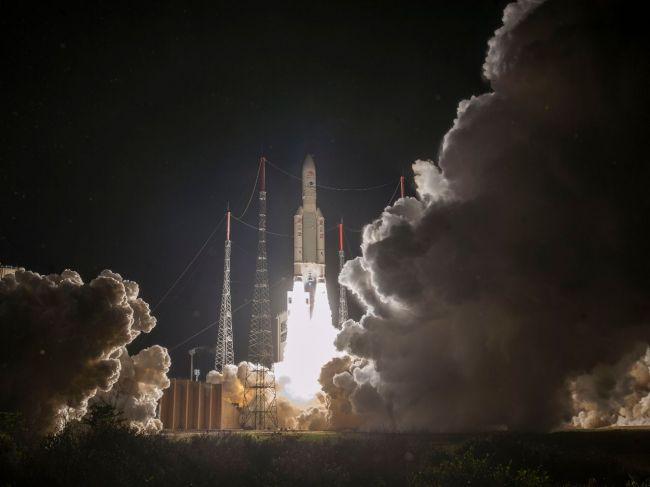 Z kozmodrómu Kourou odštartovala k Merkúru európsko-japonská misia