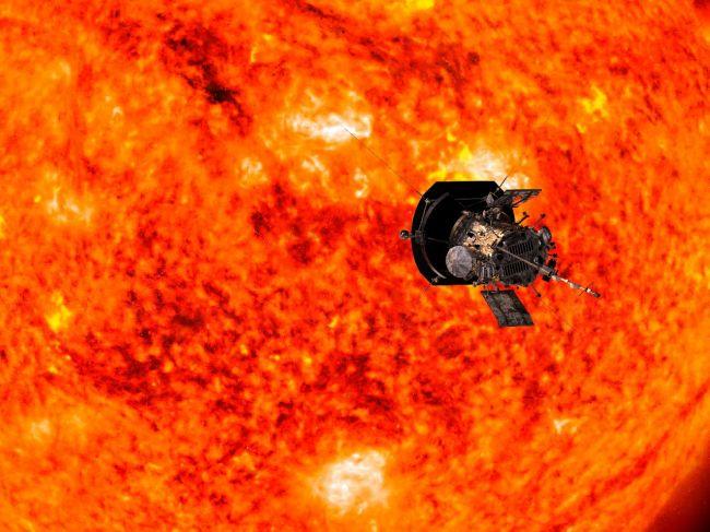 Sonda Parker Solar Probe je bližšie k Slnku než všetky iné vesmírne zariadenia