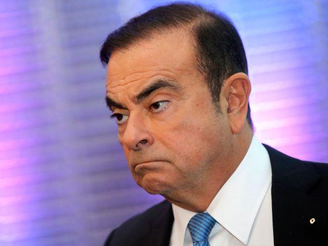 Predstavenstvo Nissanu odvolalo Ghosna z funkcie predsedu