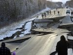 Po zemetrasení na Aljaške polícia varuje pred nebezpečnými selfie