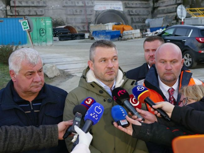 Pellegrini: Pohár trpezlivosti na stavbe tunela Višňové pretiekol