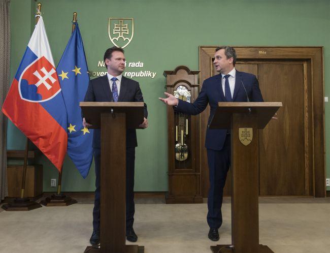 Zakladatelia ČSR by mali radosť z našich vzťahov, vyhlásil Danko s Vondráčkom