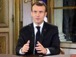 Prezident Macron oznámil zvýšenie minimálnej mzdy a daňové úľavy