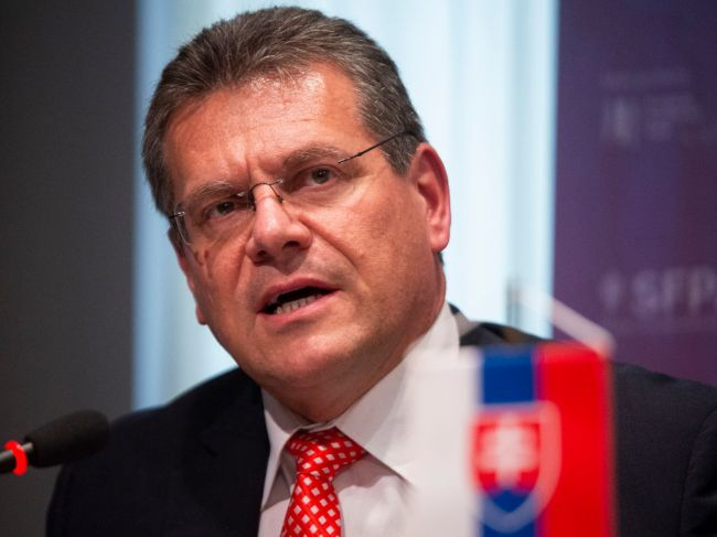 Šefčovič zvažuje kandidatúru za prezidenta; chce naplniť svoje priority v EÚ