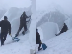 Video: Toľkoto snehu ste ešte nevideli. Sledujte, čo s ním muži robili