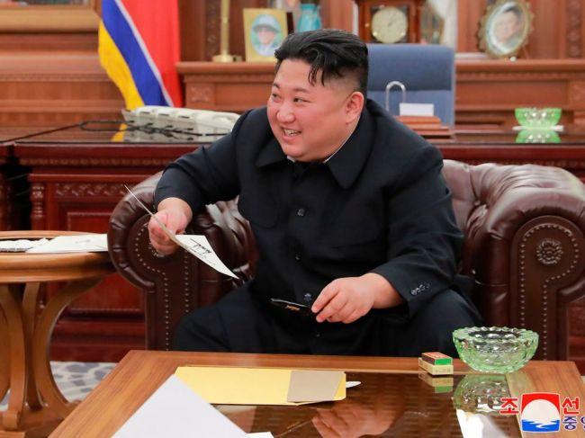36e039691 Kim Čong-un sa teší z nového listu od Trumpa a pripravuje sa na summit