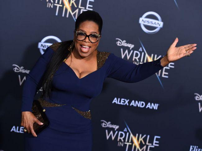 Slávna americká moderátorka a filantropka Oprah Winfreyová má 65 rokov