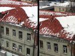 Video: Posledné momenty pred pádom robotníka zo strechy