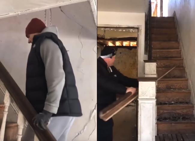 Video: Robotníci vošli do opusteného domu, čakala ich tam smrteľná pasca