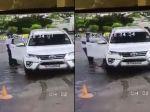 Video: Vodič vyštartoval na zamestnanca čerpacej stanice. Takýto zásah karmy nečakal