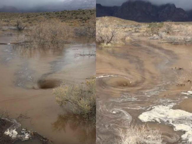 Video: Po búrke sa na hladine rieky objavili vodné víry. Neboli však obyčajné!