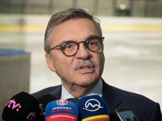 Fasel: Slovensko je hokejová krajina, pri šampionáte nebudeme čeliť problémom