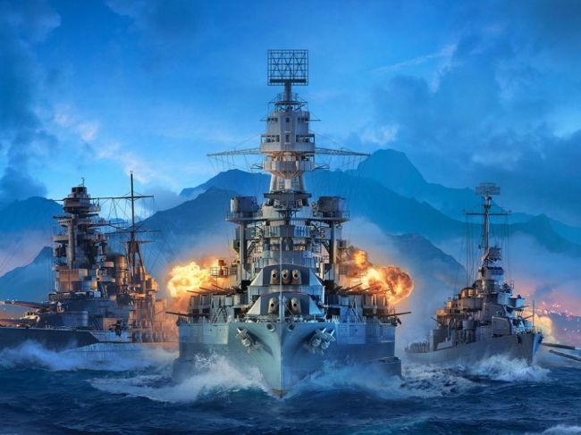 Wargaming vydáva novú hru: World of Warships Legends