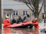 Na východe Kanady museli pre záplavy evakuovať už viac ako 1500 osôb