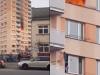 Video: V bytovke v Ružomberku vypukol požiar. Táto obyvateľka prekvapila celé Slovensko