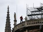 Niektorí robotníci na Notre-Dame porušovali zákaz fajčenia
